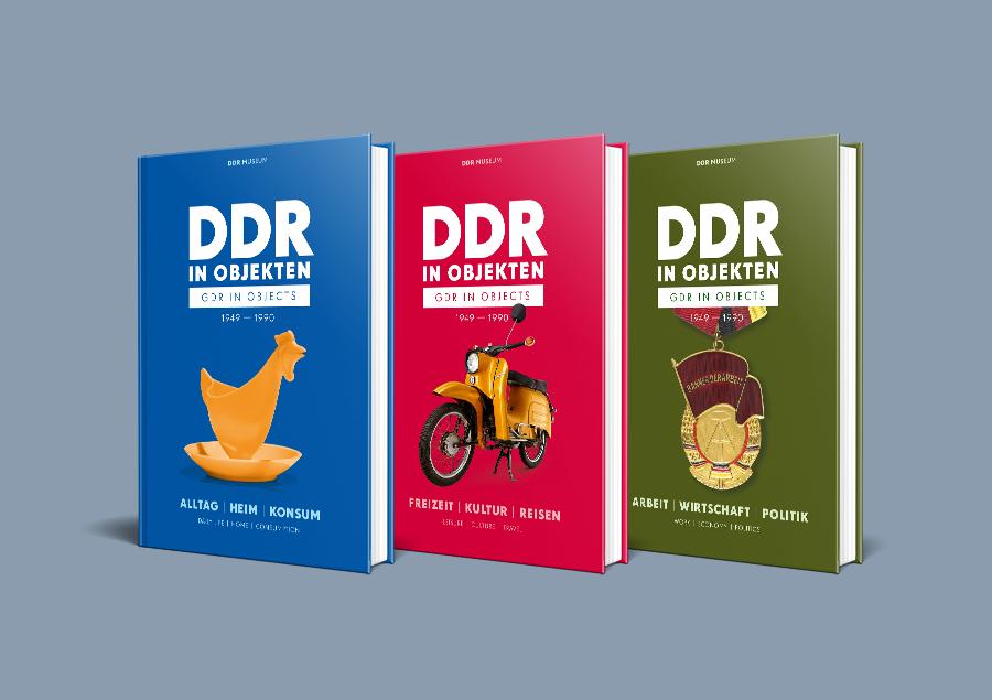 Bildbände »DDR in Objekten« I-III