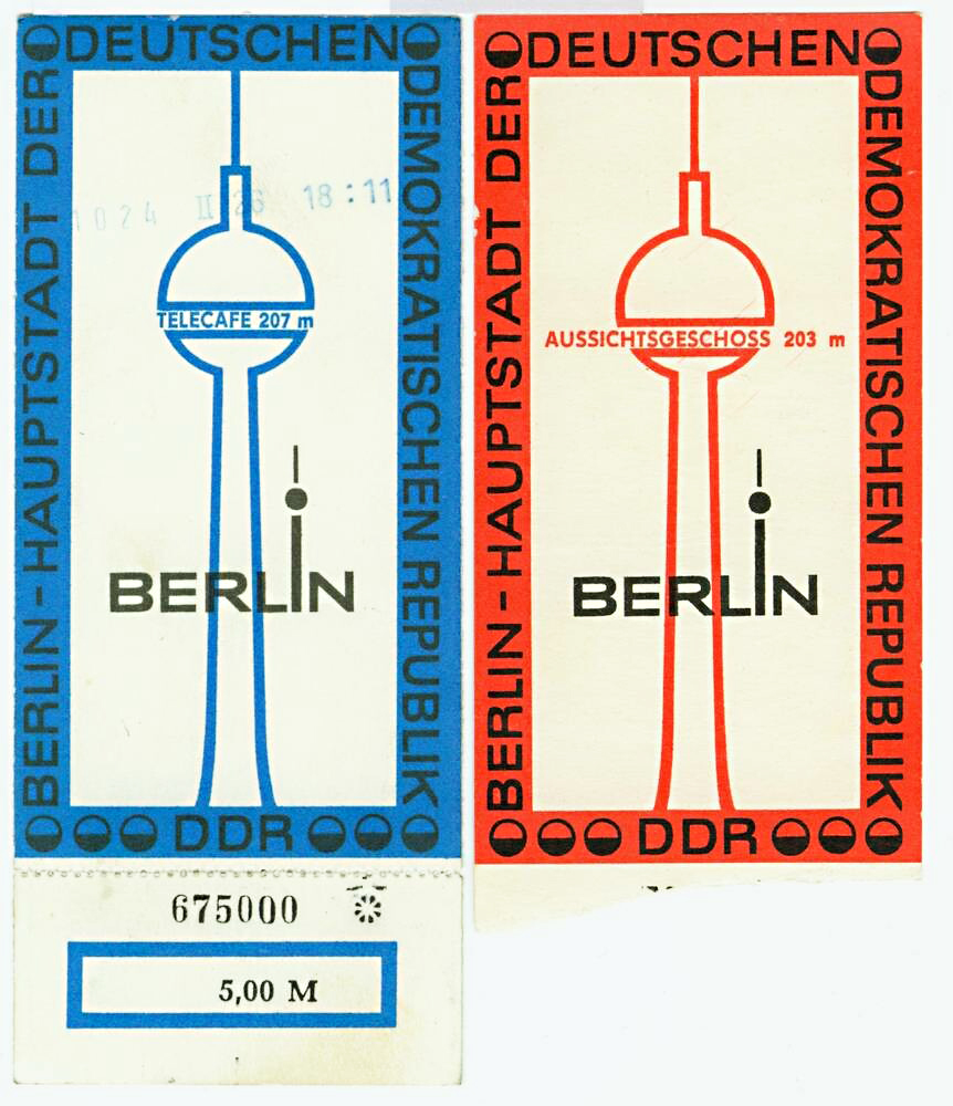 Tickets Berlin TV Tower, Telecafé and viewing platform