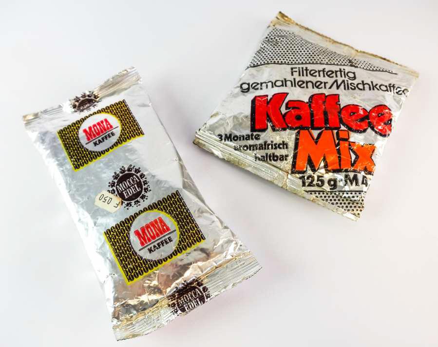 Coffee packs »Mona« and »Kaffee Mix«
