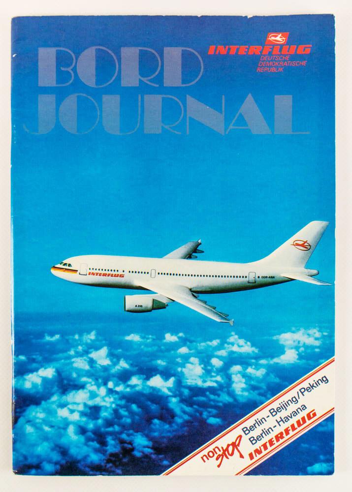 Bordjournal Interflug DDR