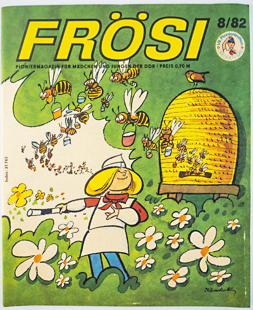 Kinderzeitschrift FRÖSI Ausgabe 8/1982