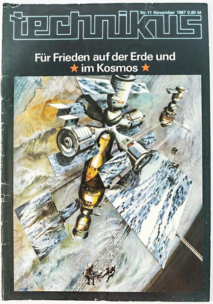 Zeitschrift Technikus Ausgabe 11/1987