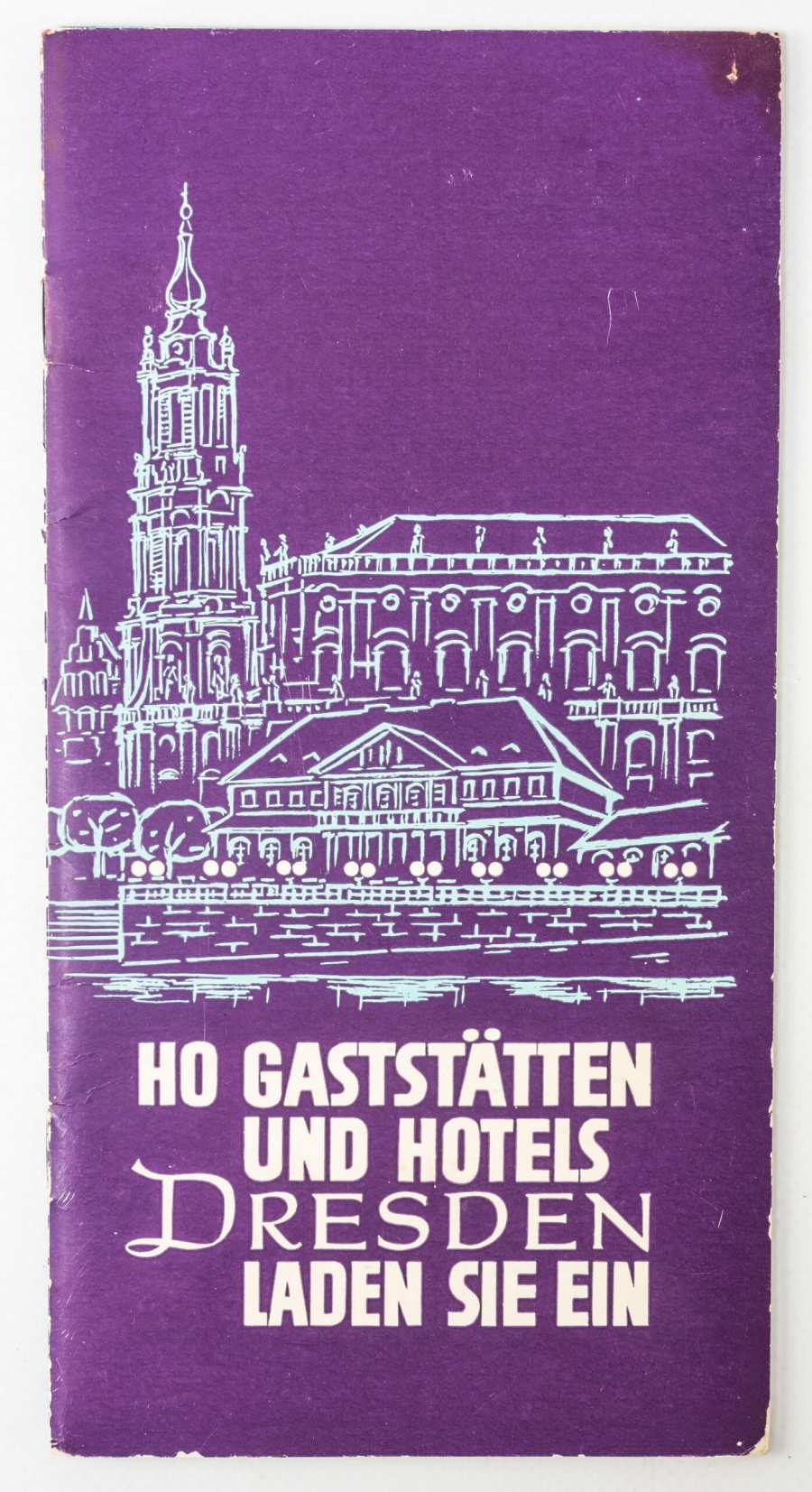 Brochure »HO Restaurants and Hotels Dresden«