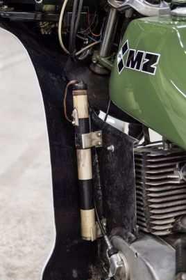 Historique : MZ de la police de RDA 3288