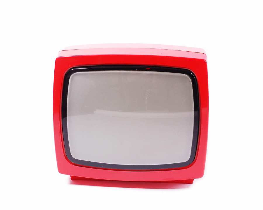 Fernseher Combi-Vision 310 frontal in rot