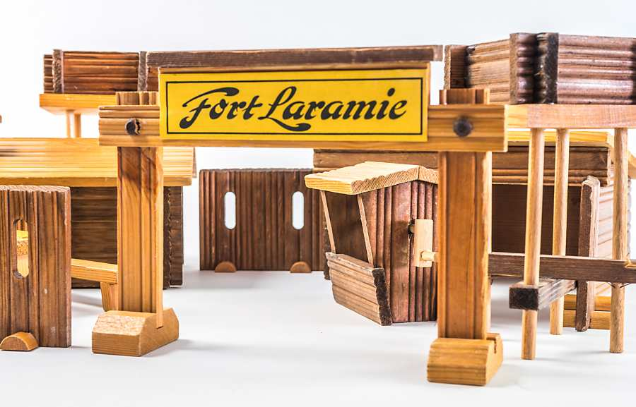 Fort Laramie object of the month DDR toy frontal shot