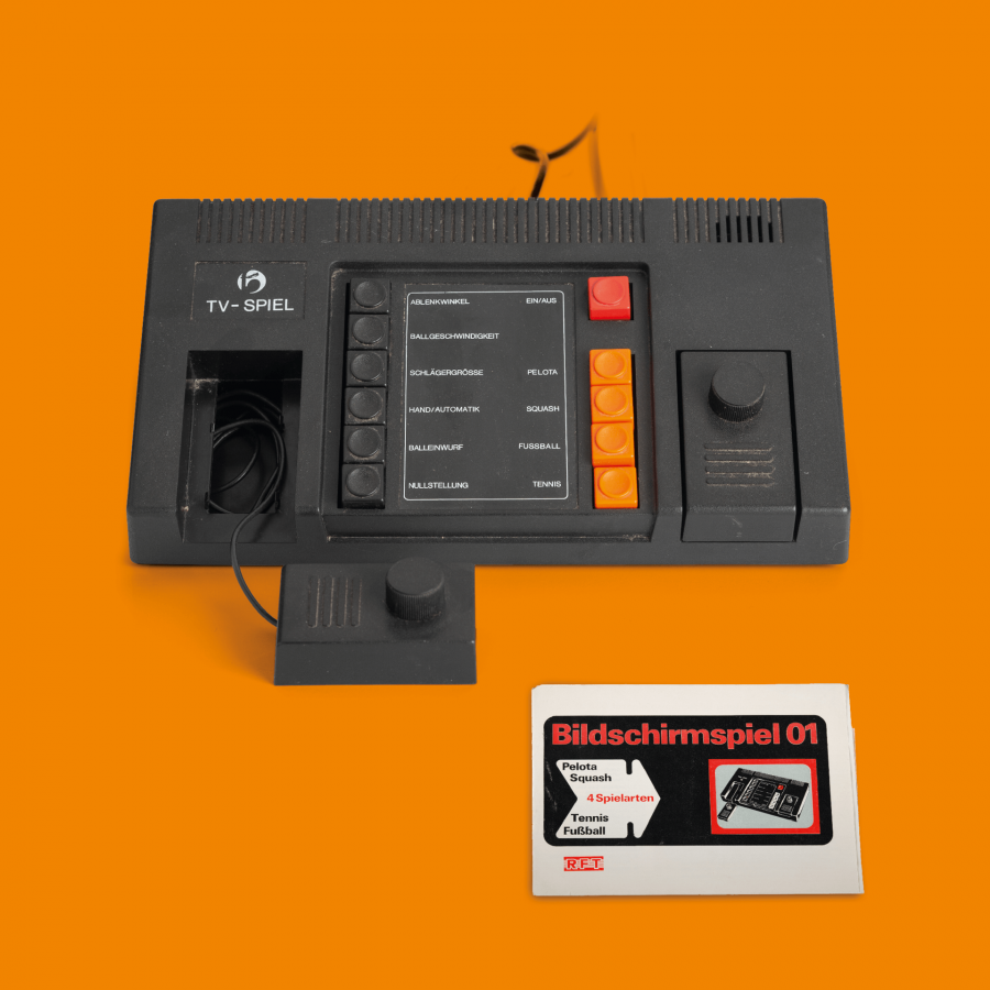 GDR video console screen game »BSS 01«