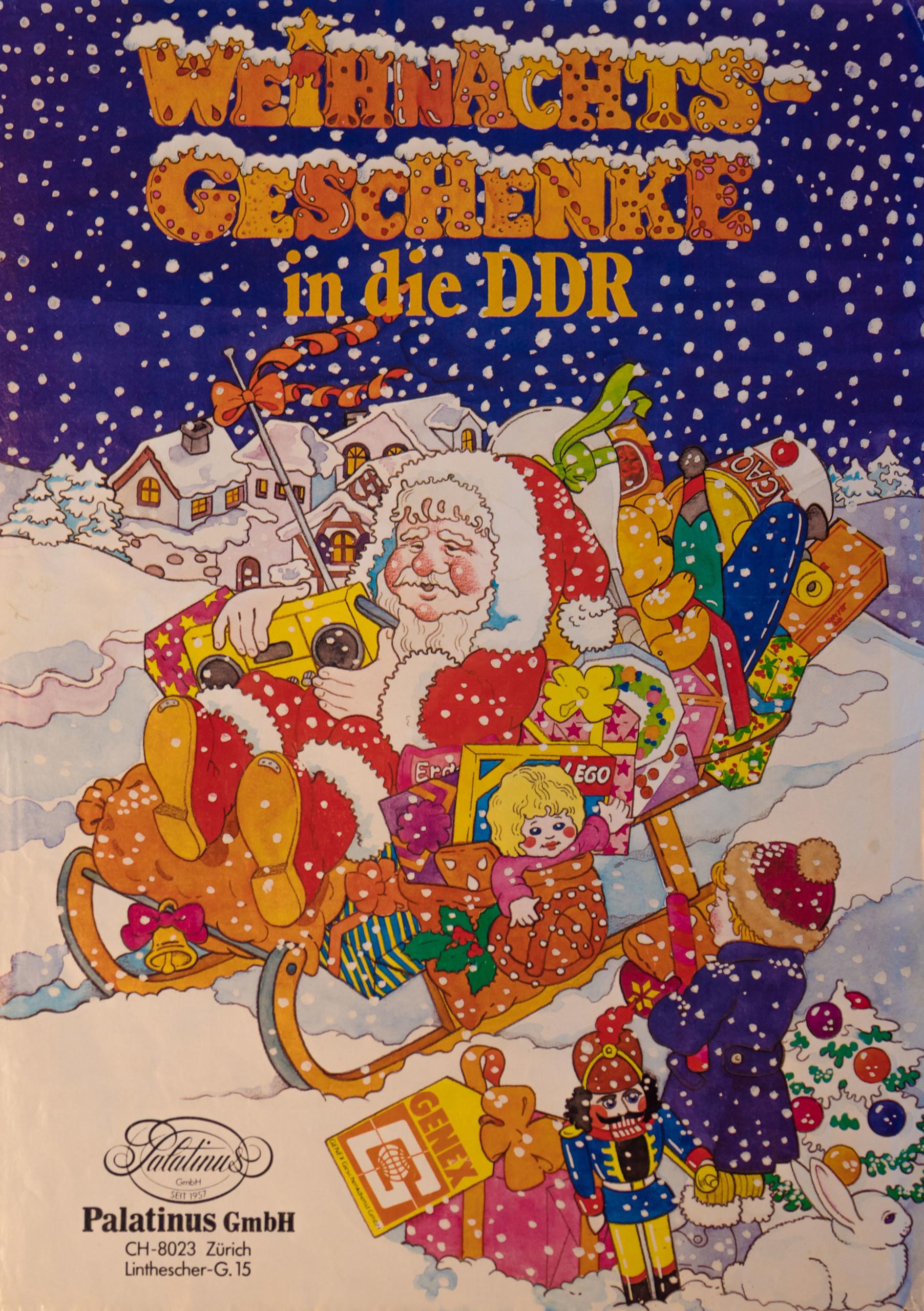 Genex Weihnachtsgeschenke in die DDR 1985 | DDR Museum Berlin