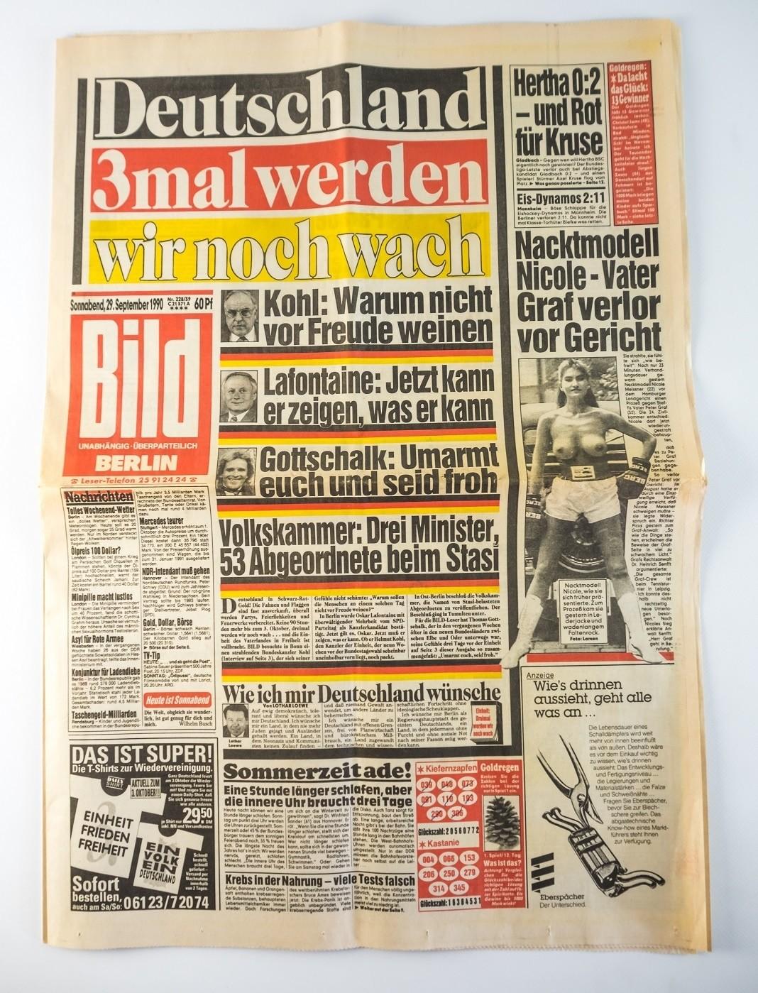 Bild Zeitung Berlin