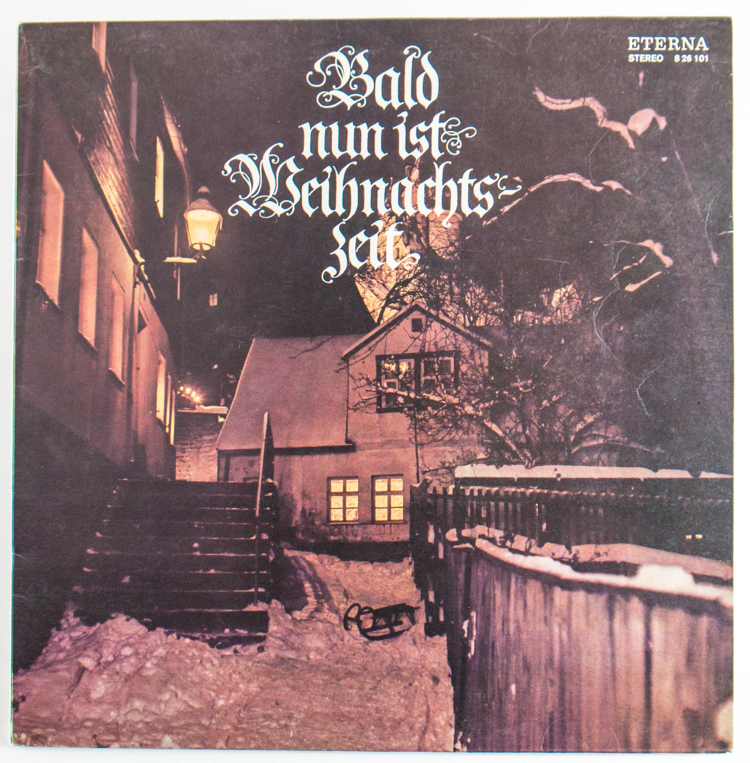 Ddr Weihnachtslieder Texte.Schallplatte Bald Nun Ist Weihnachtszeit Ddr Museum Berlin